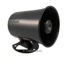 Six 6 Tone Loud Alarm Siren Security Horn for Auto Car Truck Van ATU ATV 12 Volt