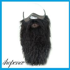 Black Beard Half Neoprene Face Mask Ski Snowboard Motorcycle Biker Warm Funny