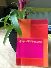 """Book, """"Edge Of Greatness."""""""