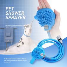 Pet Bathing Tool Combination of Shower Sprayer and Scrubber High Quality UK