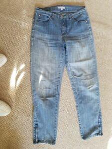 Jeans, Damen, ripped/destroyed von Marco Pecci, hellblau, Gr. 38