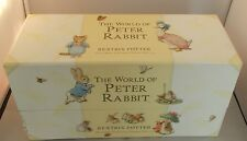 The World of Peter Rabbit Beatrix Potter The Boxed Collection 2002 set of 23