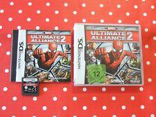 Marvel Ultimate Alliance 2 Nintendo DS Lite XL 3ds en OVP con instrucciones