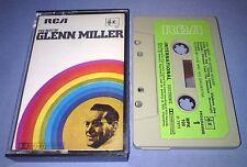 GLENN MILLER THE BEST OF PAPER LABELS cassette tape album T2242