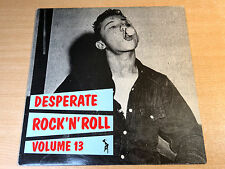 EX/EX- !! Desperate Rock N Roll Volume 13/Flame LP/Johnny McAdams/Rod Willis