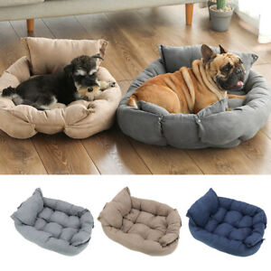 Soft Dog Pet Warm Sofa Bed Comfortable Collapsible Puppy Pet Cat Cushion Mat