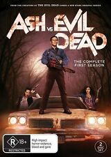 NEW..R18+ ASH Vs EVIL DEAD - Complete Season 1. REGION 1. Dvd Box Set FREE POST