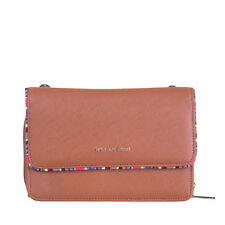 NAJ-OLEARI 3in1 Clutch Bag Wallet Saffiano PU Leather Detachable Shoulder Strap