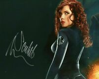 Autographed * Scarlett Johansson hand signed 8 x 10 photo HOT