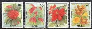 St Kitts MNH 1988 Flowers