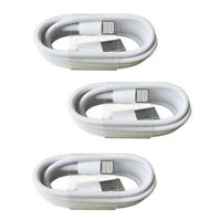 3 PACK BRAND NEW Lightning USB Charger Cable For Apple iPhone 6s 7 8 Plus SP