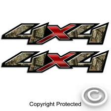 Camo Truck Decal Set - 4x4 Hunting Sticker for Silverado and Sierra