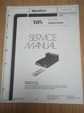 Quasar Service Manual~VA546 XQ K VA556 YE VHS Video Cassette Recorder