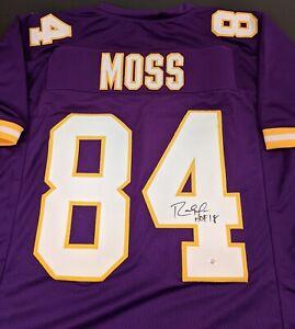 Randy Moss Minnesota Vikings Autographed Signed Jersey COA