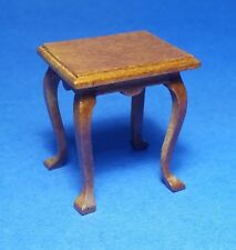 Miniature Dollhouse Side End Table 1:12 Scale New