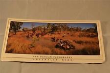 POSTCARD Ken Duncan Panographs The Muster Kimberley WA unused