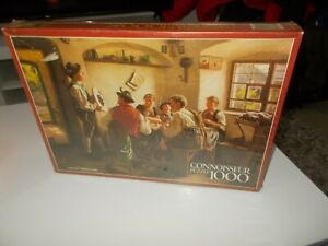 """Connoisseur new/sealed 1,000 piece Jigsaw Puzzles -""""A Good Score"""" by Emil Rau"""