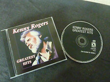 KENNY ROGERS GREATEST HITS ULTRA RARE AUSTRALIAN CD!