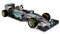 MINICHAMPS 417 150044 & 150444 MERCEDES AMG W06 model F1 car Hamilton 2015 1:43