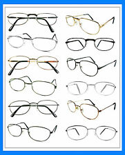 Mr. Reading Glasses [+4.00] 12 Metal Frame Wholesale Lot Reader Unisex 4.00