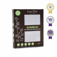 Bubba Blue Bamboo White Bassinet Waterproof Mattress Protector