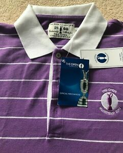THE OPEN COLLECTION: Muirfield 2013. Size L Cotton Polo Shirt