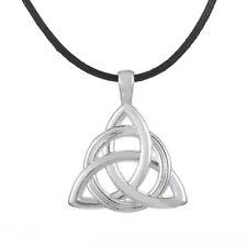 Trinity Celtic Knot Pendant Necklace Irish Knot Vintage Jewelry for Men Women
