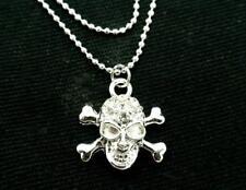 Skull Crystal Charm Ankle Bracelet Women Anklet NEW