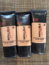 Lot Of 3, L'Oréal Infaillible Pro-Mat 24hr, 110 Crème Café