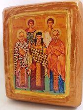 Saint Aethalas St Acepsimas St George St George Neopolites St Joseph Church Icon
