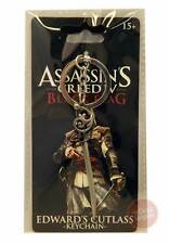 Assassin's Creed 4 - Edward's Cutlass Pewter Sword Keychain NEW assassins