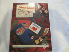 Vintage 1995 Christmas Craft Book~Stocking Stuffer Crafts~LBDX1
