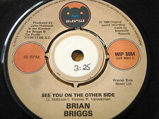 """BRIAN BRIGGS-See you on the other side 7"""" vinyle"""