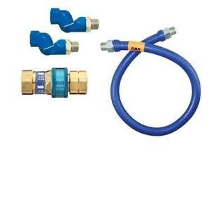 """Dormont 16125KIT2S48 Deluxe SnapFast® 48"""" Gas Connector"""