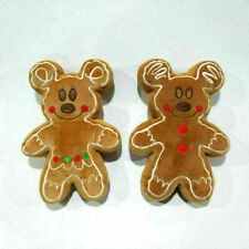 More details for disney gingerbread man mickey plush minnie mouse christmas 12.5