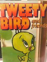 TWEETY BIRD AND FRIENDS Cartoons Kids Klassics Goodtimes VERY HTF VHS 1992
