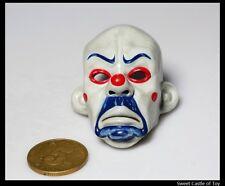1/6 Custom-Made Figure Accessory The Dark Knight Heath Joker Bank Robber Mask