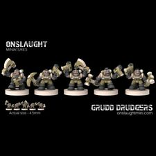Onslaught Miniatures - Grudd Drudgers - 6mm