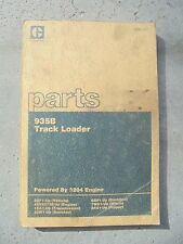 CAT Caterpillar 935B Track Loader Parts Manual Book SEBP1707 3DF1-UP TS201