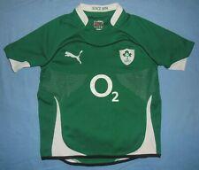 Ireland (IRFU) / 2010-2011 Home - PUMA - JUNIOR rugby Shirt / Jersey. 12y. 152cm