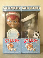 FUNKO SPEEDY ALKA SELTZER COLLECTOR SET OF 2 WACKY WOBBLER BOBBLE HEAD BRAND NEW