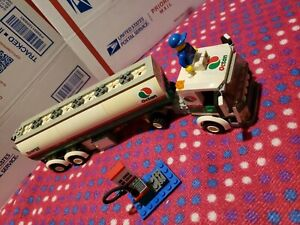 LEGO 2010 Octan Gas Tanker/Tank Truck #3180 Missing Character & Pump