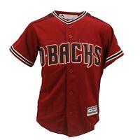 Arizona Diamondbacks MLB Majestic Cool Base Youth Size Zack Greinke Jersey New