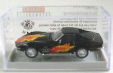 1/87 Brekina Corvette C3 Nero con Fiamma disinstallare Kor 19967