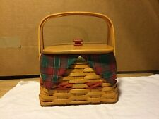 Longaberger 2000 Christmas Collection 'Deck The Halls' Basket Full Combo