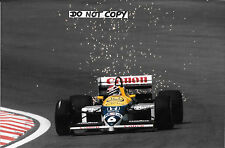 Fotografía 9x6, Nelson Piquet Williams-Honda V6 FW11B, Bélgica GP Spa 1987