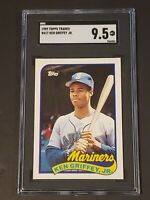 1989 Topps Traded SGC 9.5 Ken Griffey Jr. RC Newly Graded Rookie PSA BGS