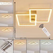 Plafonnier Design Lustre LED Lampe à suspension argentée Lampe de séjour moderne