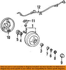 TOYOTA OEM 91-98 Tercel Brake-Rear-Axle Nut Washer 9021416010