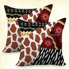 Set of 2 animal print cushion cover interior decoration products